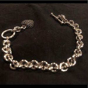 Jewelry - Sterling silver & sapphire bracelet